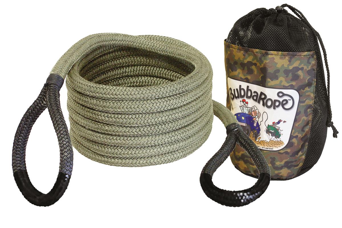 kinetisches bergeseil, bubba rope atv seil offroad bergeseil, bubba rope österreich
